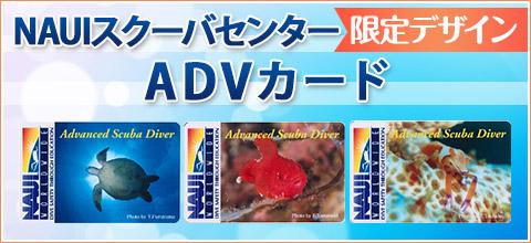 NAUIスクーバセンター限定デザインADVカード