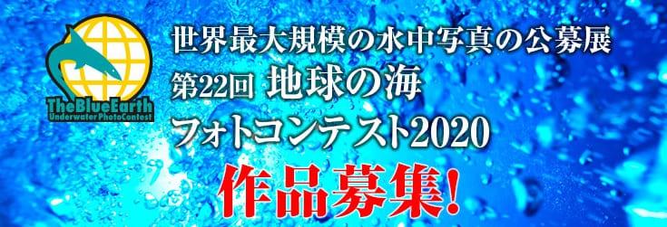 「地球の海フォトコンテスト2020」作品募集中!