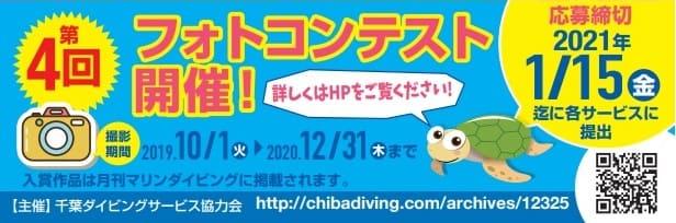 千葉ダイビングサービス協力会主催フォトコンテストのご案内